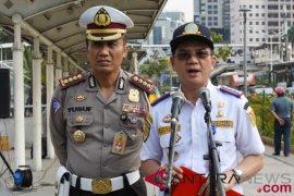 Rabu tanpa kendaraan pribadi diberlakukan untuk pegawai Dishub Jakarta