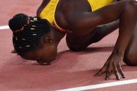 Emas 800m putri milik Halimah Nakaayi