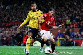 MU lawan Arsenal berakhir imbang 1-1