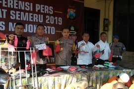 Operasi Sikat Semeru Polresta Mojokerto tangkap 37 tersangka