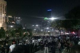 Polisi mengungkap ada massa bayaran pada unjuk rasa di Gedung DPR/MPR