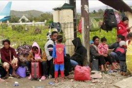 Warga Wamena mengungsi ke Jayapura