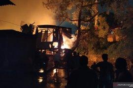 Lebih 40 rumah ludes terbakar di Medan