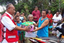 PMI kirim logistik ke lokasi terisolasi korban gempa Ambon