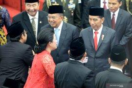 Kilas Balik Pelantikan DPR, DPD, MPR  2014-2019