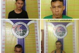 Polisi ciduk empat tersangka pemilik narkoba