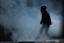 Unjuk Rasa Di Bandung Ricuh