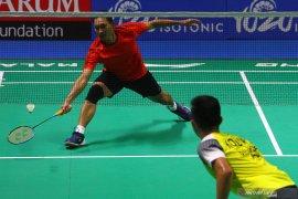 Indonesia mastesr, Sony Dwi Kuncoro melaju ke babak dua