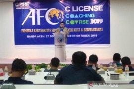 Aceh kekurangan pelatih sepak bola berlisensi C  AFC