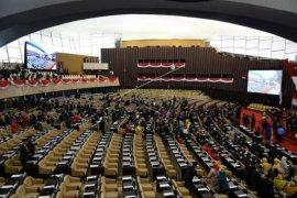 Pelantikan anggota DPR di Jakarta