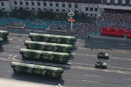 China uji coba rudal berbasis helikopter  tercanggih