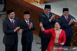 Temui Presiden Jokowi, Pimpinan DPR untuk bahas  nomenklatur kabinet