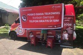 PT. Telkomsel Cabang Ambon buka posko layanan telepon gratis