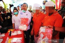 Satresnarkoba Polresta Banjarmasin musnahkan ribuan gram sabu-sabu dan ekstasi