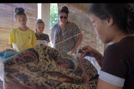 Promosi batik khas Bali