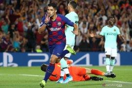 Liga Champions: Suarez antar Barcelona balik kalahkan Inter 2-1