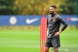 Pelatih timnas Prancis, Deschamps kirim sinyal minta Chelsea lebih banyak mainkan Giroud