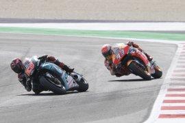 Marquez fit usai kecelakaan, tiga Yamaha kuasai FP2 GP Thailand
