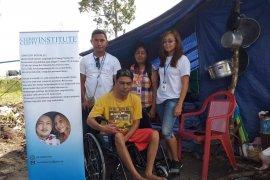 CCI bantu pengungsi disabilitas korban gempa