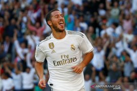 Eden Hazard cetak gol perdananya antarkan Real taklukkan Granada