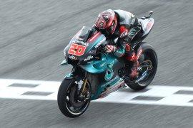 Marquez, Rossi  terjatuh, Quartararo klaim pole position GP Thailand