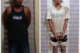 Polisi ringkus dua tersangka pemilik narkotika, salah satunya sempat lompat ke parit