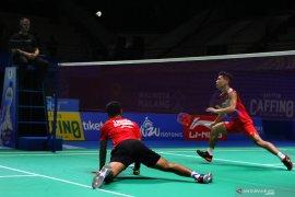 Dikalahkan Jepang, wakil putra Indonesia terhenti di semifinal Indonesia Masters 2019