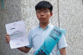 Aktivis Joshua Wong daftarkan diri sebagai calon anggota legislatif Hong Kong