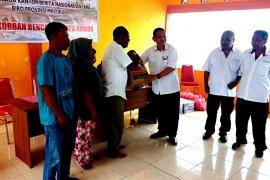Perum LKBN ANTARA Maluku salurkan bantuan korban gempa Ambon