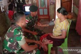 Satgas Pamtas RI-Timor Leste gelar pengobatan bagi warga perbatasan