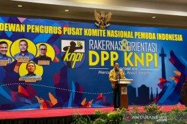 Bambang Patijaya buka Rakernas dan orientasi DPP KNPI