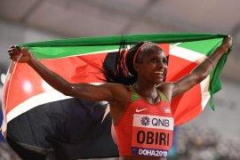 Obiri pertahankan predikat juara dunia 5.000m putri