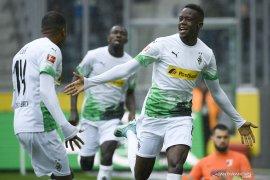 Hasil Liga Jerman: Hancurkan Augsburg, Moenchengladbach puncaki klasemen
