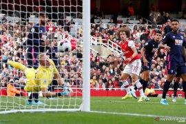 Gol tunggal David Luiz, Arsenal merangsek ke posisi ketiga