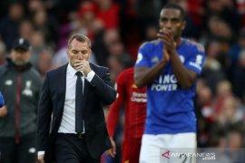 Manajer Leicester City Brendan Rodgers tegaskan tidak akan jual pemain pada Januari