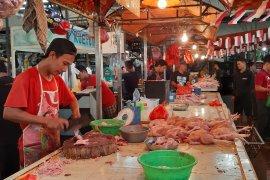 Harga daging ayam di Pontianak capai Rp28.000/kg