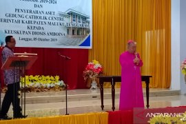 Uskup Amboina menyambut baik penyerahan Katolik Center Langgur