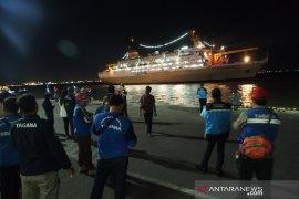 Pengungsi Wamena tiba di Tanjung Perak Surabaya