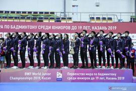 World Junior Championships - Juara dunia bulu tangkis junior bakal diguyur bonus di Magelang