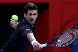 Tenis Paris Masters, Djokovic kalahkan Dimitrov untuk kemungkinan bertemu Nadal di final