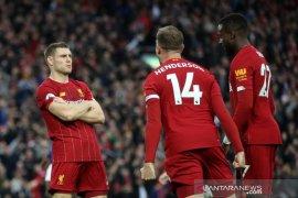 Liverpool sementara unggul di puncak klasemen Liga Inggris