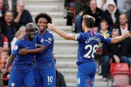 Bertamu ke markas Southampton, Chelsea sukses meraih kemenangan 4-1