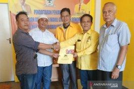 """Maju Pilgub Bengkulu, Agusrin """"pinang"""" Golkar dan PDIP"""