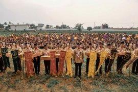 Kegembiraan dan kemeriahan 2.972 anggota Pramuka Kota Bogor di Jamcab 2019