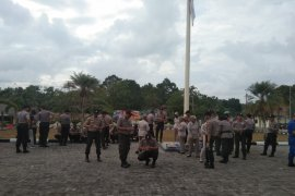 266 personel Polres Bangka dapat layanan obat kaki gajah