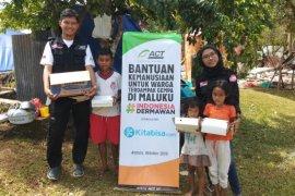 ACT pasok pangan untuk dapur umum dan layanan kesehatan korban gempa Ambon