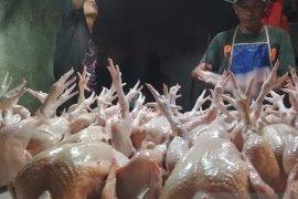 Ayam potong di Baturaja Oku Rp27.000/Kg