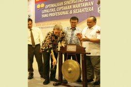 Dedie berpesan ini pada Raker PWI Kota Bogor