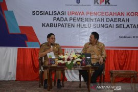 KPK RI sosialisasi upaya pencegahan korupsi di HSS
