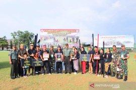 Tim sumpit Kodim Singkawang sabet juara umum Piala Pangdam XII/Tpr